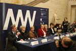 Wystawa dzieł Aleksandra Gierymskiego - konferencja prasowa w Muzeum Narodowym w Warszawie