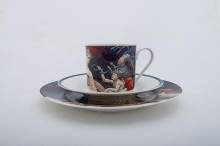 W_odzimierz Szpinger_Zestaw porcelanowy (2)