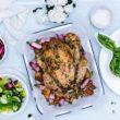 Wielkanoc pełna smaku,  Pieczony Kurczak Zagrodowy z wiosennymi warzywami